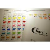 Farvekort til Amsterdam Standard Akryl