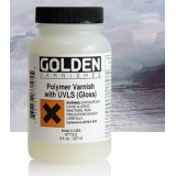 Fernis polymer  w/UVLS, 236 ml, GOLDEN, Gloss, satin, mat)