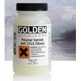 Fernis polymer  w/UVLS, 236 ml, GOLDEN, Gloss, satin, mat)