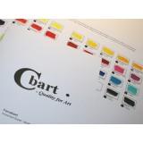 Farvekort til Amsterdam Expert Akryl