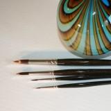 Rund/spids pensel til olie & akryl