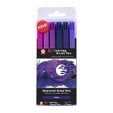 Koi color brush sæt, Galaxy, 6 stk.