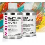 MSA Varnish w/UVLS, 236 ml, GOLDEN (gloss, satin, mat)