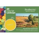 PanPastel, sæt LANDSKAB, med 20 farver og værktøj