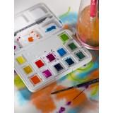 Van Gogh Akvarel pocketbox, Vibrant Colors, 12 farver+pensel