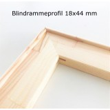 Blindramme, 20 cm, smal profil