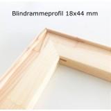 Blindramme, 20 cm, smal profil