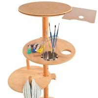 Arbejdsbord til kunstneren (kræver kun lidt plads)