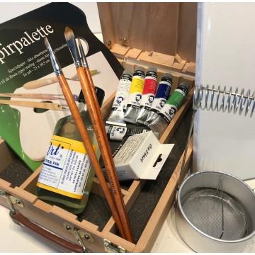 Startsæt Van Gogh oliemaling - Alt du skal bruge - SPAR 20%