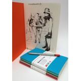 Sketch & note, A6, 40 sider/20 ark, 125g, Hahnemühle
