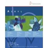 Akryl-papir 330g, blok m. 50 ark, flere str.
