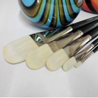 Cbart - BLONDINEN, filbert pensel, til olie/akryl