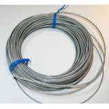 Coated wire, 2,3 mm pr. m